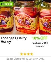 Topanga Quality Honey